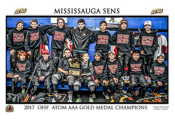 Atom Senators are GTHL Scotiabank Champions