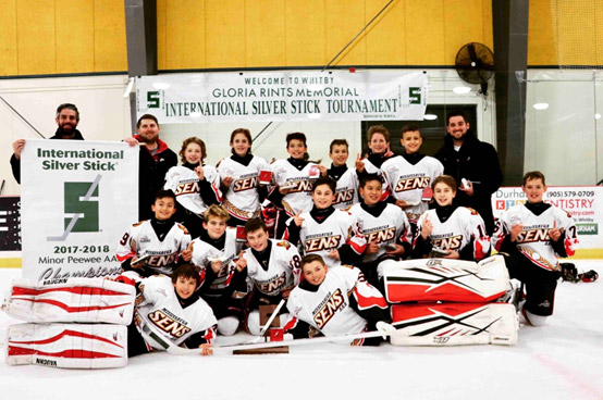Minor Peewee 2017 - 2018 Silver Stick Champions