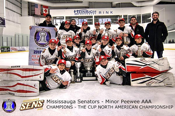 Minor Peewee The Cup North American Championship