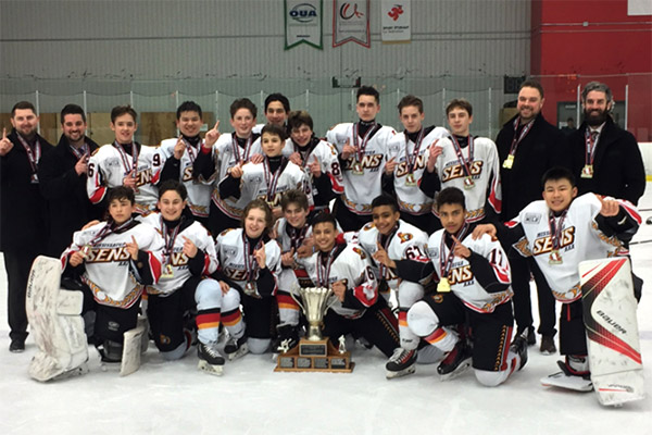 Peewees GTHL and OHF Champions